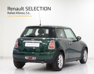 Outside Mini R55 Clubman Diesel  British Racing Green