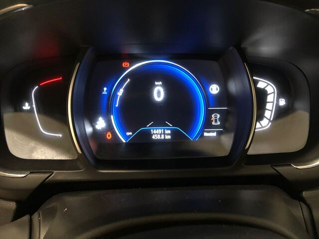 Inside Grand Scénic Diesel  Rojo Carmín   techo