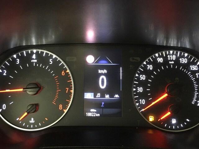Inside Clio Gasolina/Gas  Blanco