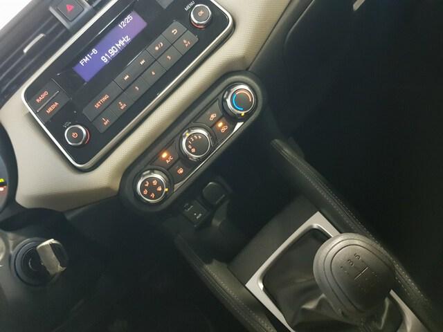 Inside Micra Diesel  Power Blue