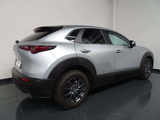 Outside CX-30  Machine Gray