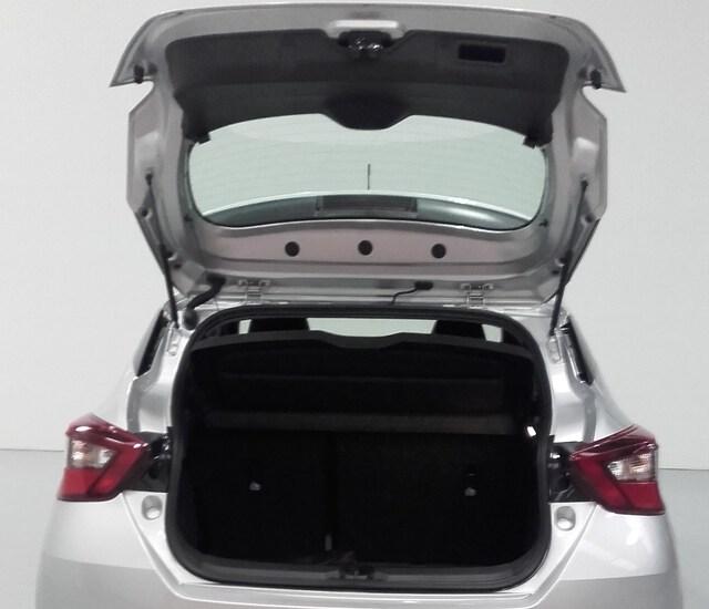 Inside Micra  Platinum Silver