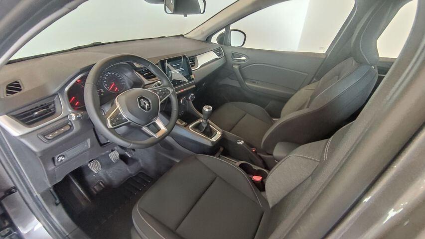 Inside Captur Gasolina/gas  Gris