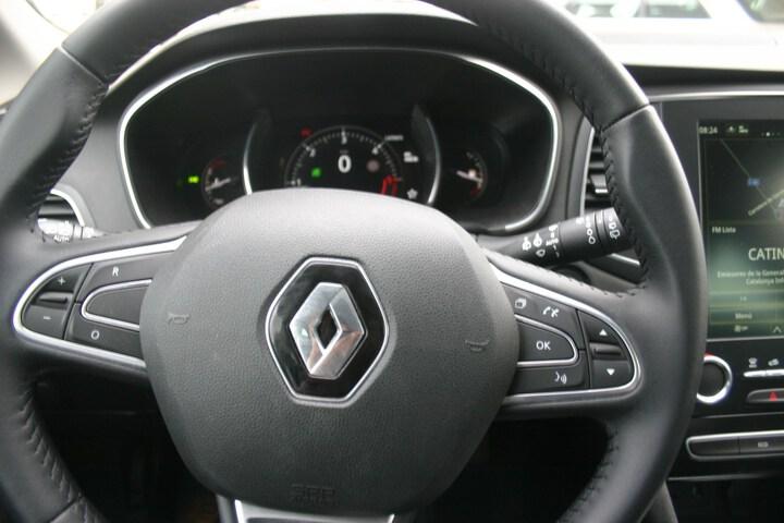 Inside Mégane Sport Tourer Diesel  ROJO