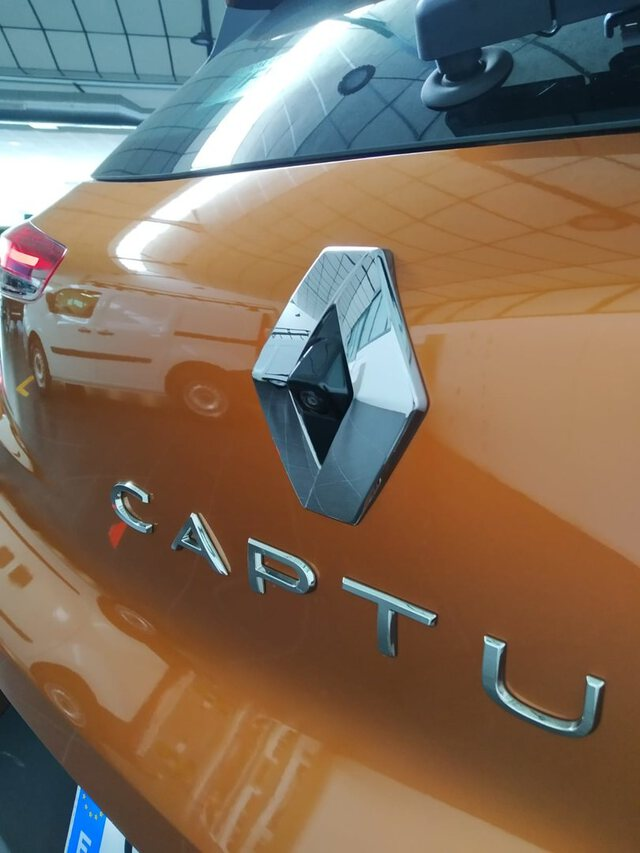 Outside Captur Diesel  Naranja Atakama