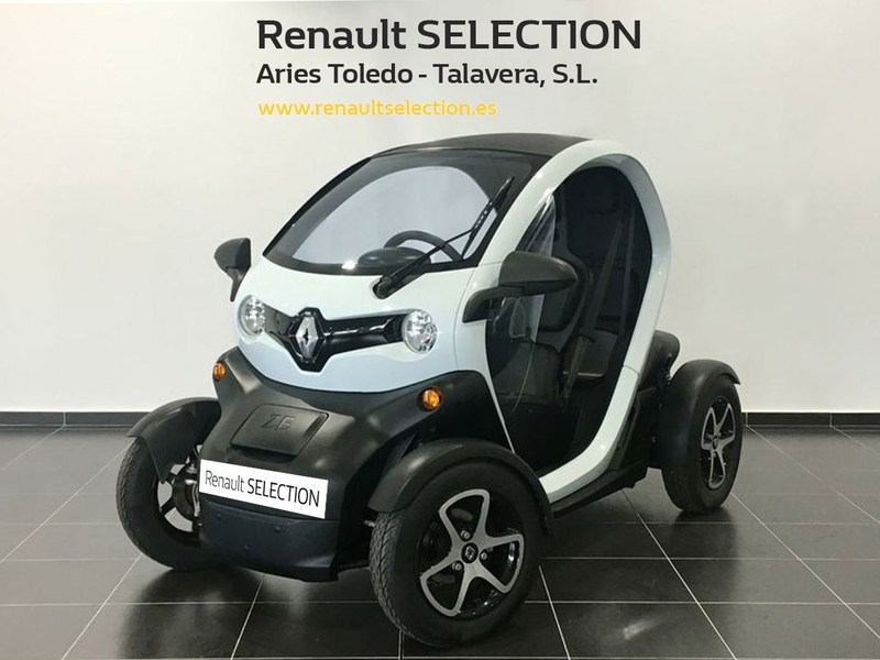 Outside Twizy  Blanco extrem
