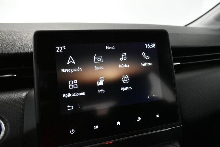Inside Clio Gasolina/Gas  Negro