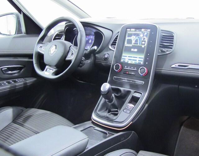 Inside Grand Scénic Diesel  Rojo Carmín techo n