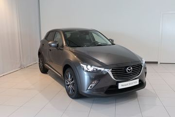 Outside CX-3 Diesel  Jet Black