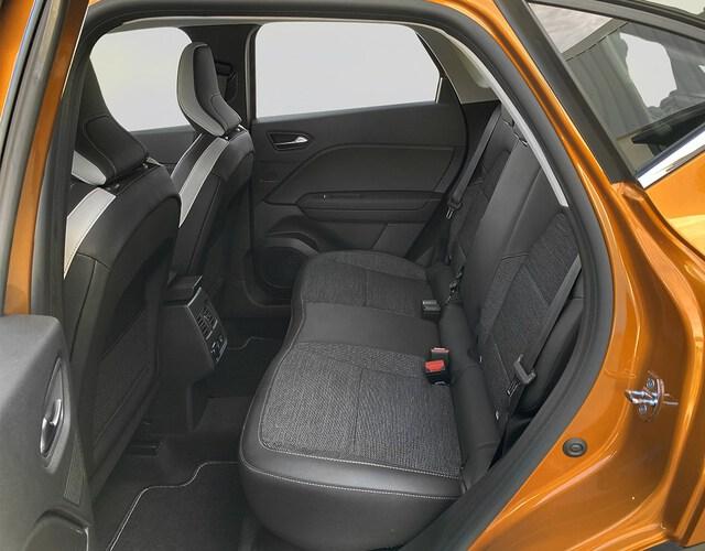 Inside Captur Híbrido Enchufable  Naranja Atakama con