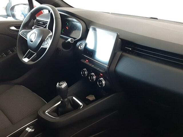 Inside Clio Gasolina/Gas  Blanco Glaciar