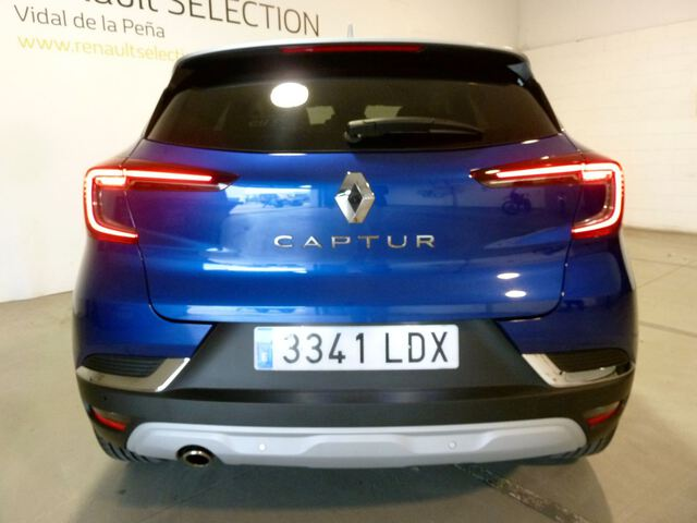 Inside Captur Diesel  Azul Celadon con tec