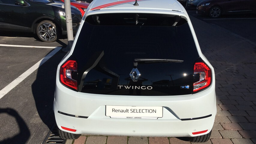 Outside Twingo Electric  Blanco Quartz