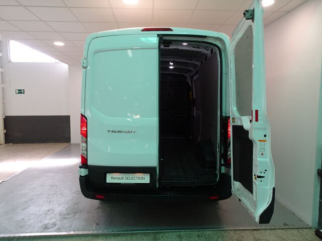 Inside Transit Furgón Diesel  Frozen white