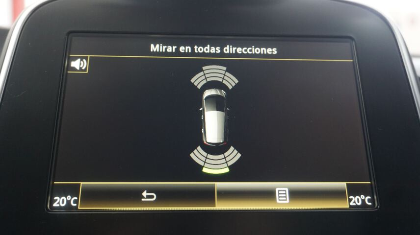 Inside Scénic Diesel  Rojo Carmín/Techo n