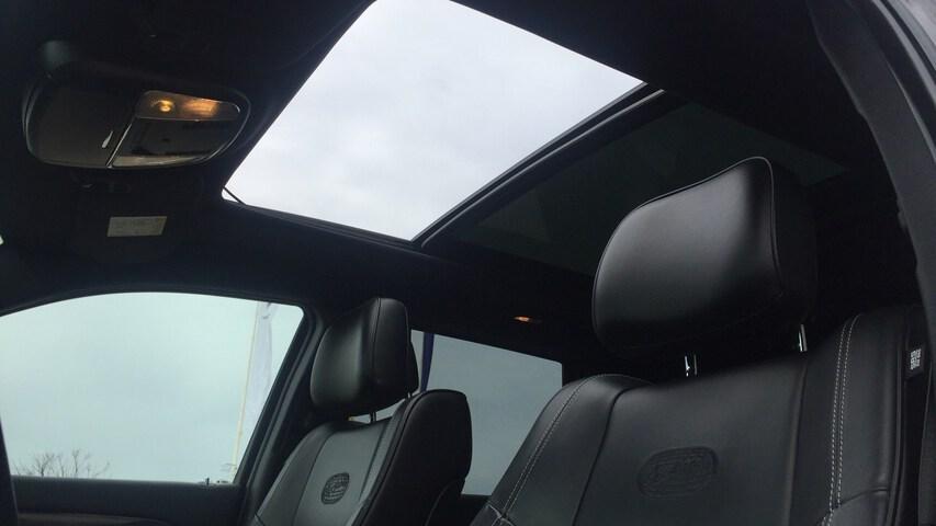 Inside Grand Cherokee Diesel  Negro Brillante