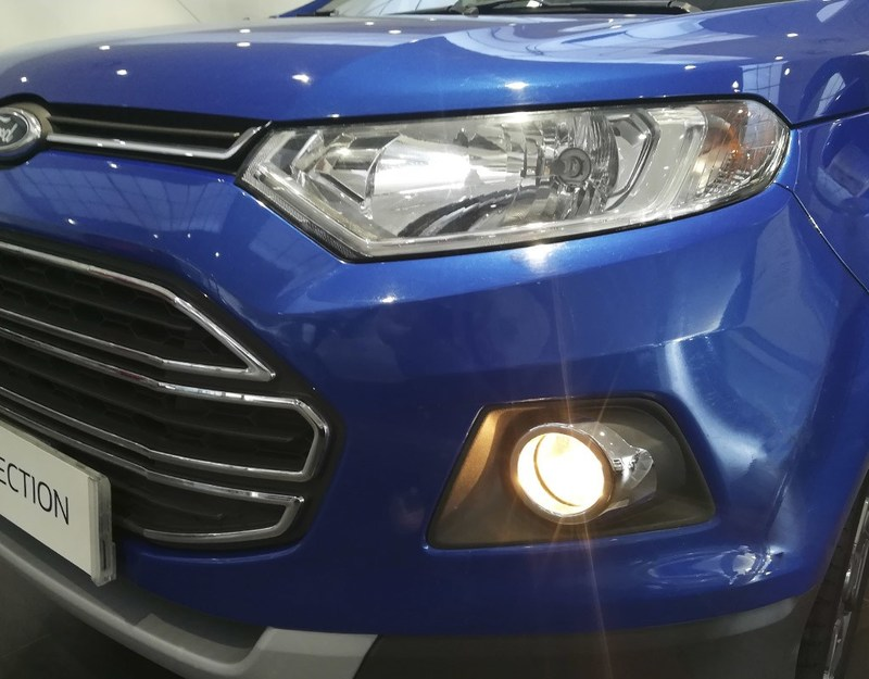 Outside EcoSport Diesel  Azul Kinetic