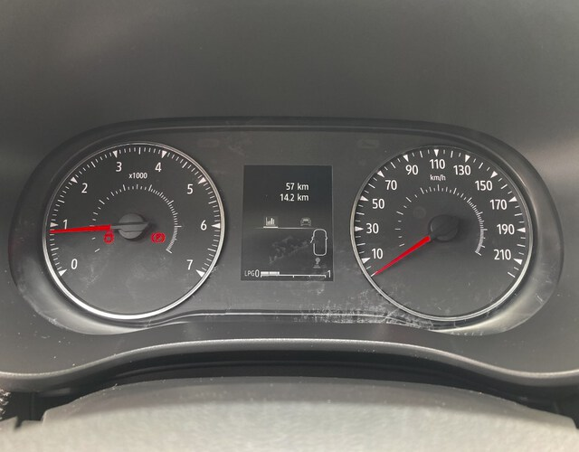Inside Sandero Gasolina/Gas  Gris Highland