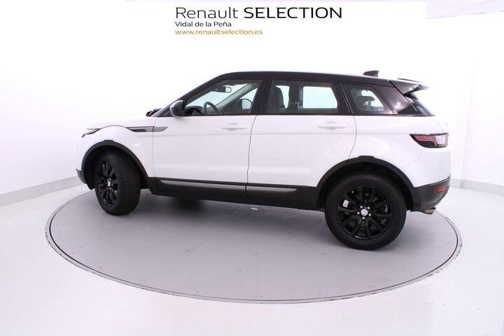 Inside Range Rover Evoque Diesel  Yulong White