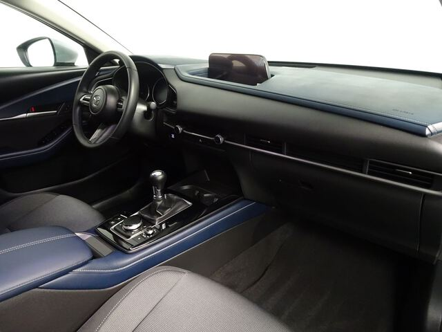 Inside CX-30  Machine Gray