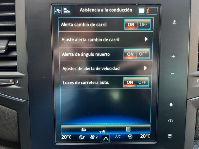 Inside Mégane Sport Tourer  Azul Cosmos