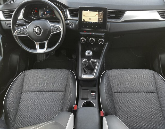 Inside Captur Diesel  BLANCO NACARADO TECH
