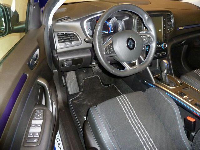 Inside Mégane Sport Tourer  Azul