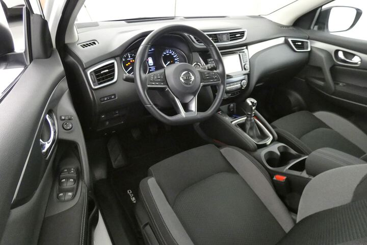 Inside Qashqai Diesel  Blanco