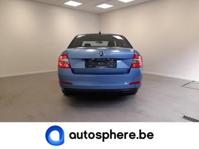Exterieur Octavia  blauw