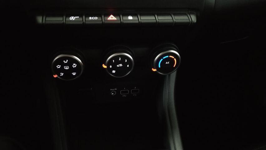 Inside Captur Gasolina/gas  Negro
