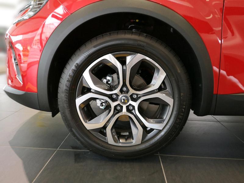 Außenausstattung Renault Dezir-Rot/Black-Pear rot