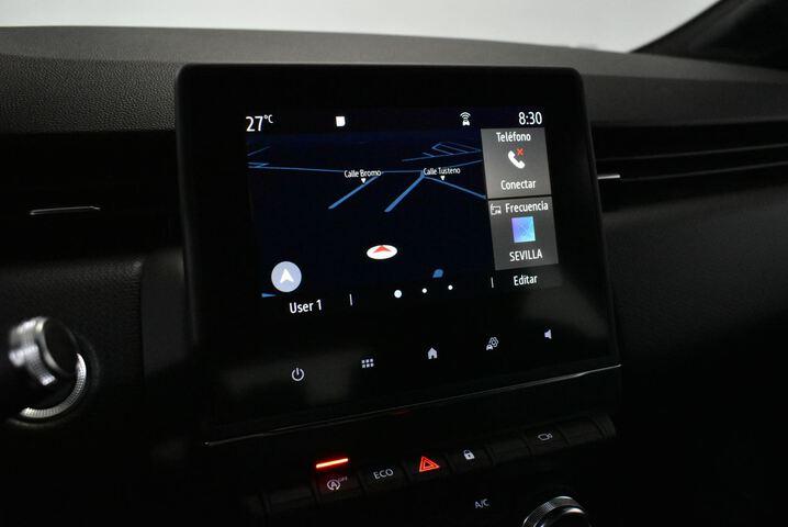 Inside Clio Gasolina/Gas  Marron
