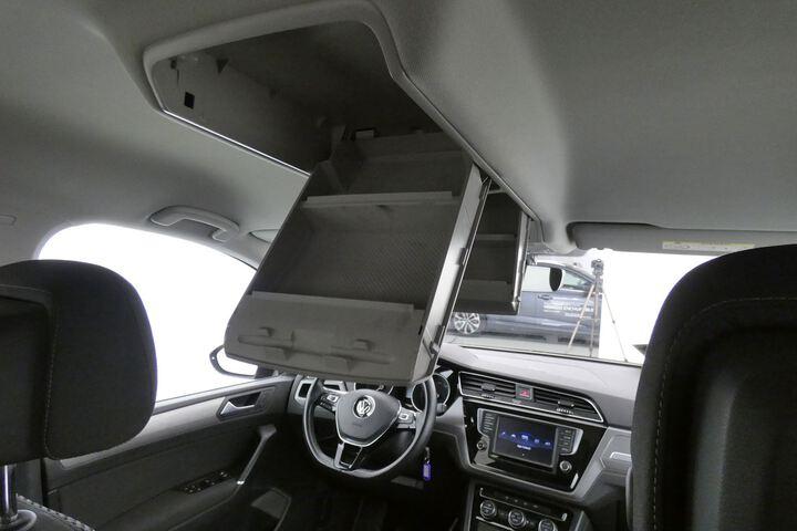 Inside Touran Diesel  Gris Indy metalizado