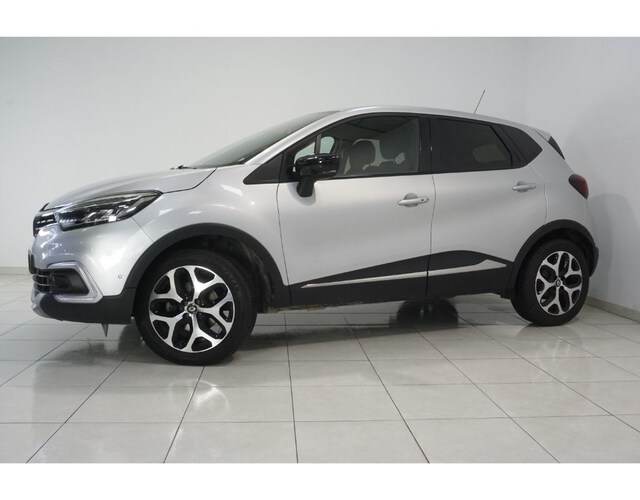 Outside Captur  Gris Platino