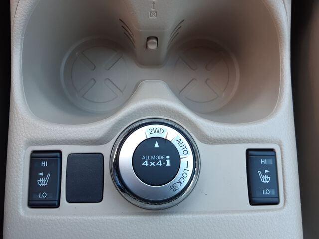 Inside X-Trail Diesel  Naranja