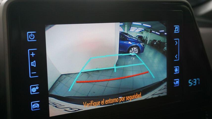 Inside C-HR Híbrido  Negro Azabache