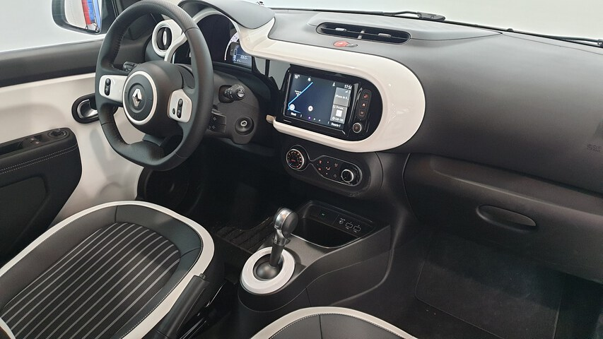 Inside TWINGO Electric  Blanco Cristal