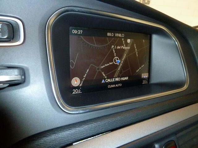 Inside V40 Diesel  Blanco