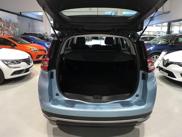 Inside Grand Scénic Diesel  Azul celeste   techo
