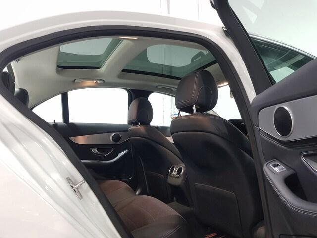 Inside Clase C W205 Diesel  Blanco