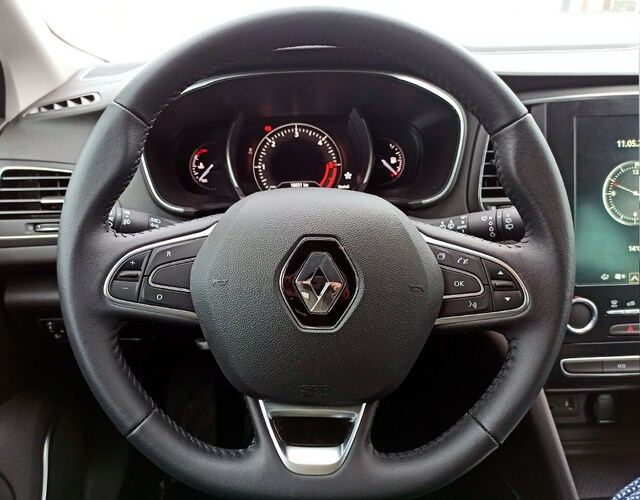Inside Mégane Sport Tourer Diesel  GRIS CLARO