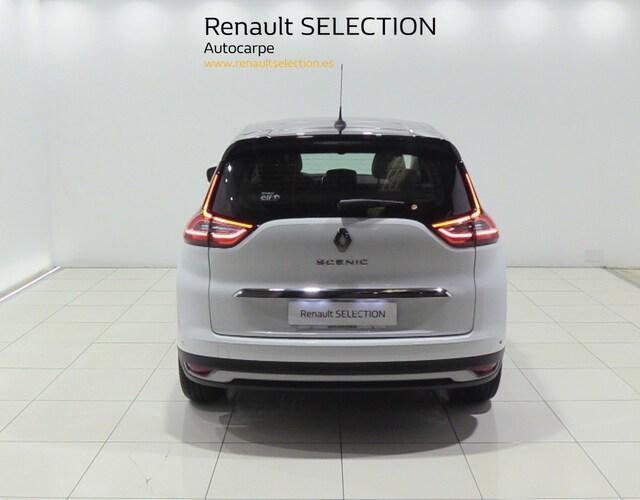 Inside Grand Scénic Diesel  Blanco nacarado tech
