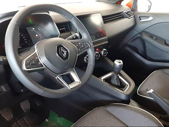 Inside Clio  Gris Platino
