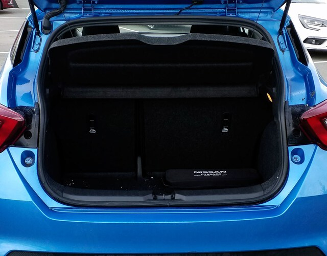 Inside Micra  Power Blue