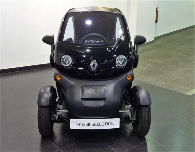 Inside  Twizy E-Tech eléctrico  Negro Brillante