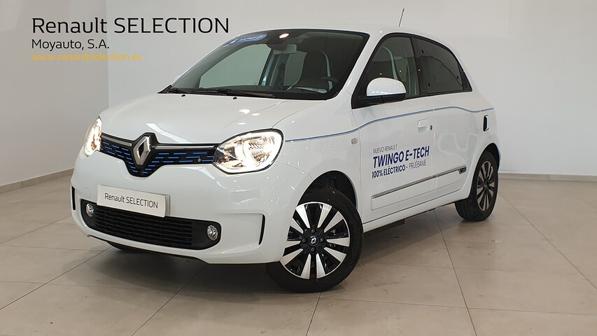 TWINGO Electric  Blanco Cristal