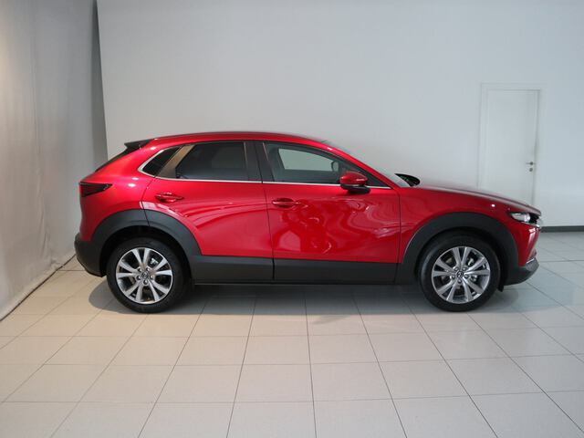Outside CX-30  Soul Red Crystal