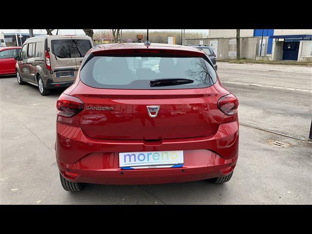 Esterni Sandero Streetway III 2021 Pastello Rosso