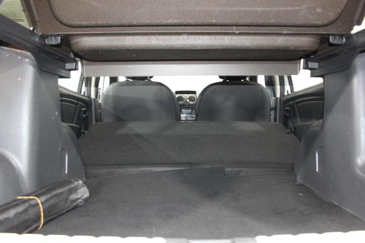 Inside Duster Diesel  Blanco Glaciar