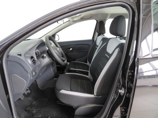Inside Sandero Diesel  Negro Nacarado